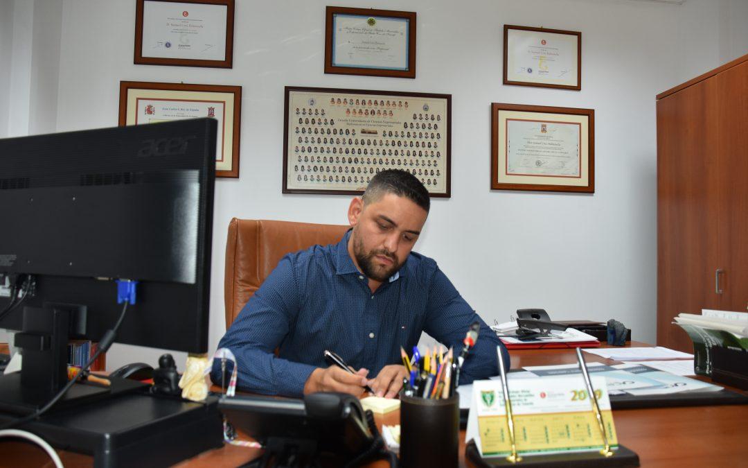 Entrevista Radio Ecca a Samuel Cruz 29/10/2019